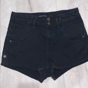 TopShop Black Shorts Size 4